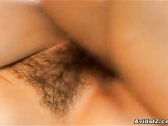 Pretty Asian pussy on the rod and close up scenes