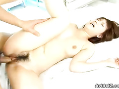 Girl squeals from fuck and masturbation