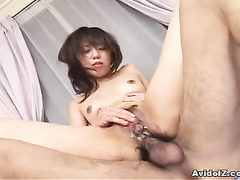 Asian anal penetration on the close up scenes