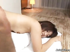 Cam records Asian hole packed by the cock