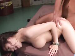 Bosomy babe non stop fuck in every horny position