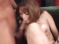 Japanese milf pussy close up penetration and cum