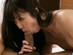 Japanese fucker gets hot from awesome blowjob
