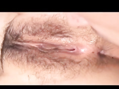 Steamingly hot brunette chick is getting passionately fucked by bald guy