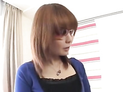 Brown haired cutie is getting pussy excitingly fondled