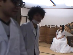 Japanese bride covets to doctor and seduces him for hot fuck