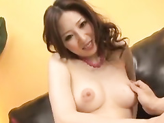 Juicy assed Japanese chick is getting hotly fucked sex toy