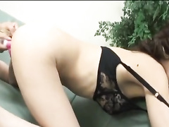 Beauty Japanese chick enjoys being masturbated with sex toys