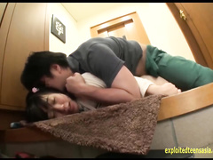 Teen Asian slut Ozak Nonoka does deep blowjob and enjoys hardcore fuck