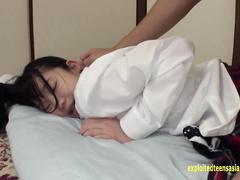 Japanese teen Yuna Himekawa enjoys fucking in sexy uniform