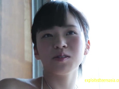 Delightful Japanese teen Suzuki Asahiis gets excitingly massaged