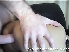 Sweet young Asian girl Sheila is pleasuring hardcore dggystyle fuck