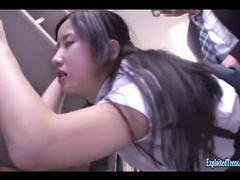 Steaming sexy Japanese girl Suzu Ichinose got fucked hard in the library